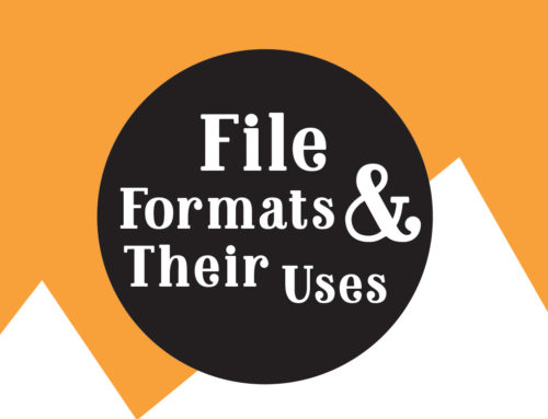 Image File Formats and When/How to Use Them